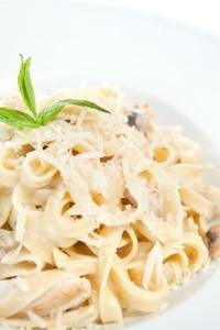 The Chew: Classic Fettuccine Alfredo Recipe & Light Alfredo Recipe