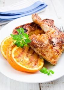 The Chew: Ginger Orange Chicken Recipe & Restaurant-Style Presentation