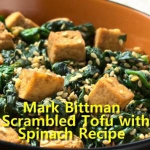 Dr Oz: Mark Bittman Scrambled Tofu & Eggplant Un-Parmesan Recipe