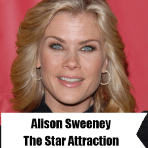 Today: Alison Sweeney The Star Attraction & Living a Healthy Lifestyle