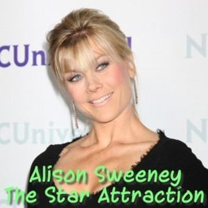 "Ellen: Alison Sweeney ""The Star Attraction"" & ""Heads Up"" App Review"