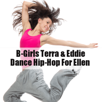 Ellen: B-Girls Terra & Eddie Hip Hop Dance & Embarrassing 70's Photos