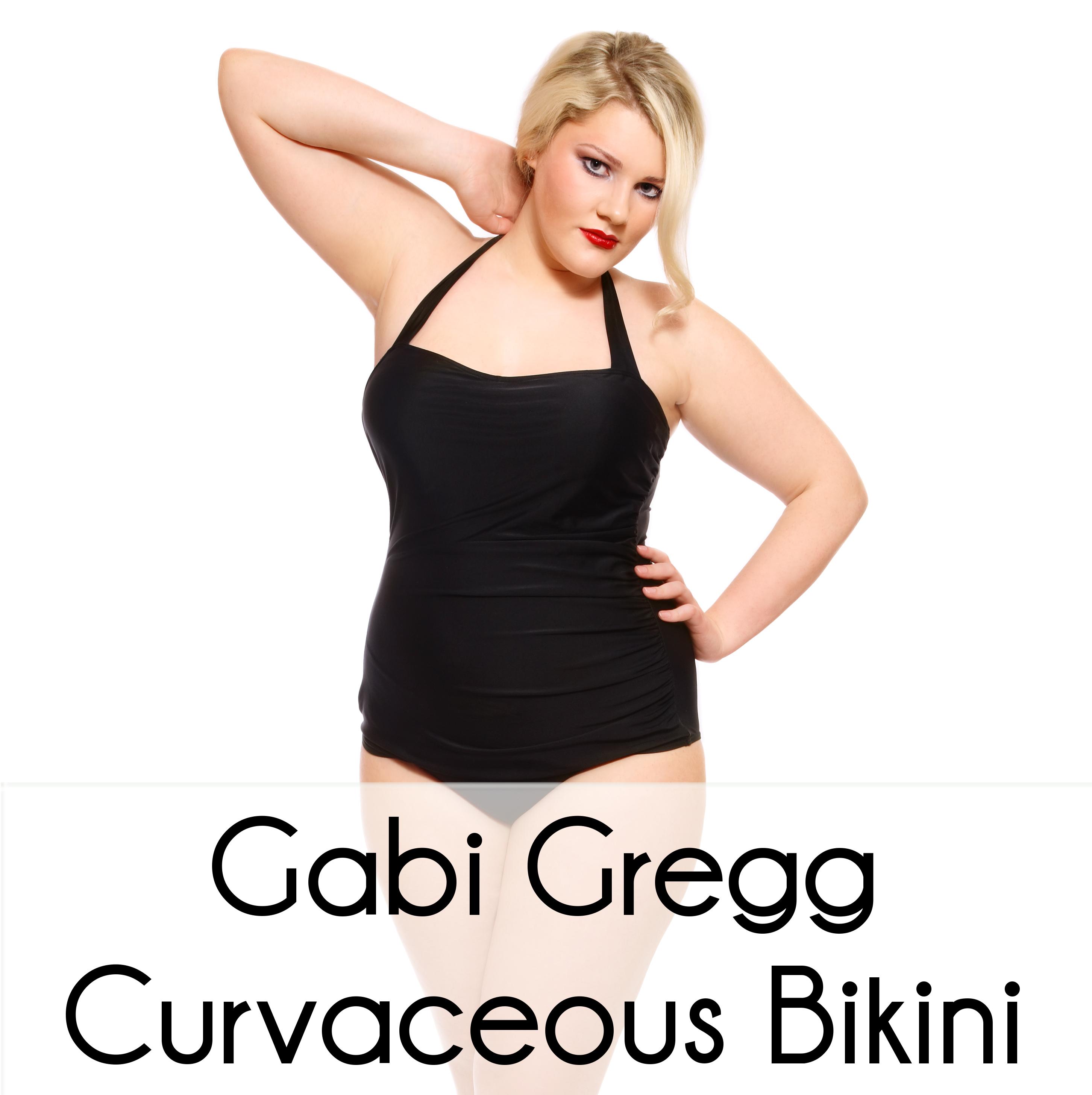 "Gabi Gregg designed a line of two piece ""fatkinis"" for plus size ..."