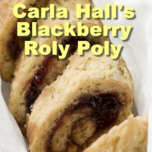 The Chew: Carla Hall's Blackberry Roly Poly Recipe With Blackberry Jam