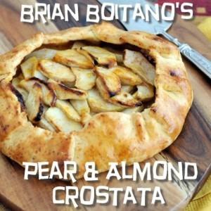 The Chew What Would Brian Boitano Make & Pear & Almond Crostata Recipe