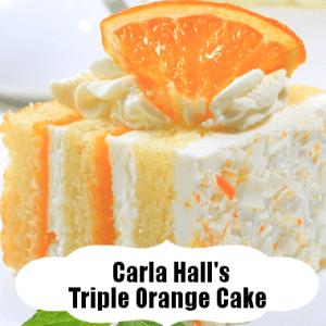 Triple Orange Cake Recipe With Orange Juice