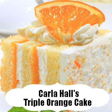 The Chew: Carla Hall's Triple Orange Cake Recipe With Orange Juice