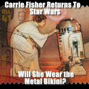 GMA: Carrie Fisher Working Out for Star Wars VII & Get This App Review