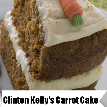 The Chew: Clinton's Carrot Cake & Whipped Cream Cheese Frosting Recipe