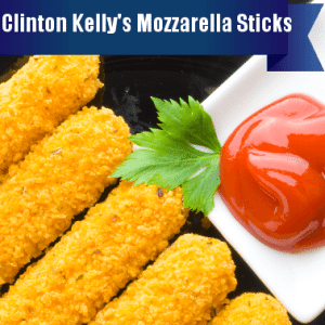 The Chew: Mozzarella Sticks Recipe & Clinton's Sticky & Sweet Popcorn