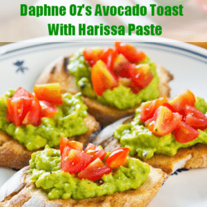 The Chew: Daphne Oz's Avocado Toast With Harissa Paste Recipe