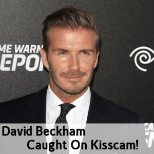 Today Show: David Beckham Caught On Kiss Cam & Get Britain Fertile