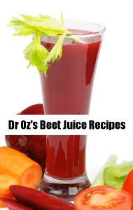 Dr Oz: Beets Lower Blood Pressure & Beet Juice, Beet Popsicle Recipes