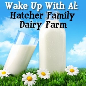 Today Show: Al Roker Wake Up With Al - Hatcher Family Dairy Farm Visit