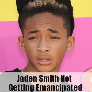 Ellen: Jaden Smith Not Getting Emancipated & Will Smith's Parenting