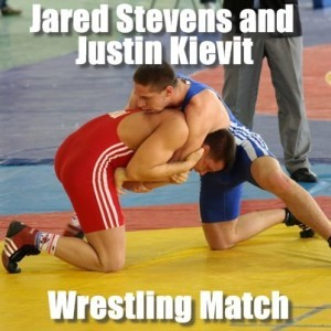 GMA: Jared Stevens & Justin Kievit Wrestling Match, Meet Rulon Gardner