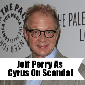 The View: Scandal Cast - Jeff Perry As Cyrus & Bellamy Young As Mellie