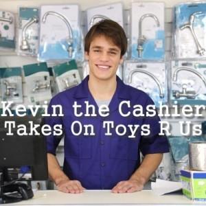 Ellen: Kevin the Cashier Toys R Us & New Hospital Gown Design Review