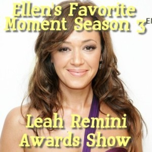 Ellen Heads Up App Review & Leah Remini Season Three Ellen Awards Show