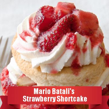 The Chew Mario Batali Strawberry Shortcake Recipe With Yogurt Biscuits
