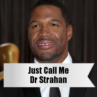 Live!: Michael Strahan Honorary Doctorate & May 11 Michael Strahan Day