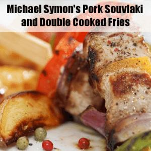 The Chew: Michael Symon's Pork Souvlaki & Carla Hall's Buffalo Chicken
