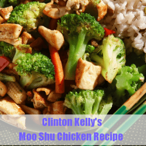 The Chew: Clinton Kelly's Moo Shu Chicken and Vegetables Recipe