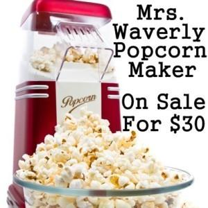 Today Show: Bordeaux iPad Case Review & Mrs Waverly Popcorn Maker Sale