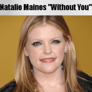 "Ellen Natalie Maines Pompadour Haircut & ""Without You"" with Ben Harper"
