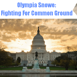 The View: Olympia Snowe Fighting For Common Ground & Jessica Capshaw