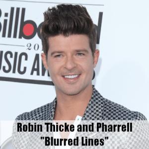 "Ellen: Robin Thicke & Pharrell ""Blurred Lines"" Lyrics & Athleta Review"