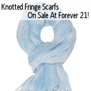Today Show: Knotted Fringe Scarf Review & American Eagle Classic Short Review