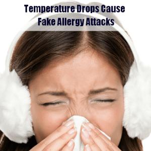 Dr Oz Sudden Temperature Drop Causes Fake Allergy Attacks & Runny Nose
