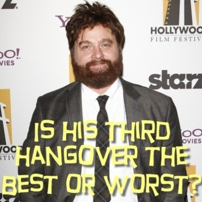 Today Show: Zach Galifianakis The Hangover 3 Review & Is He Like Alan?