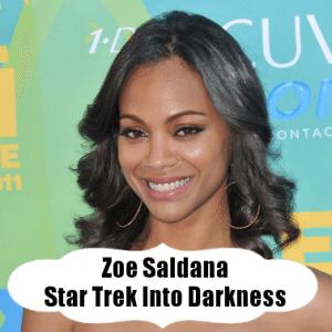 Kelly & Michael: Zoe Saldana Star Trek Into Darkness & AKT Workout