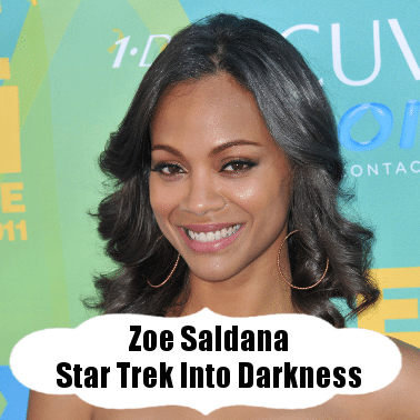 Kelly & Michael: Zoe Saldana Star Trek Into Darkness & AKT Workout