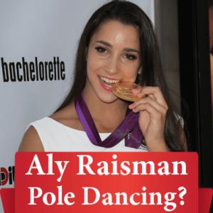GMA: Aly Raisman's Pole Dance & Jacoby Jones Leaps Karina Smirnoff