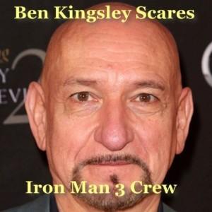 Live!: Ben Kingsley Scares Iron Man 3 Crew & Loves a Wintertime Swim