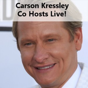 Live!: Carson Kressley Co-Hosts & Dancing With the Stars Fourth Judge