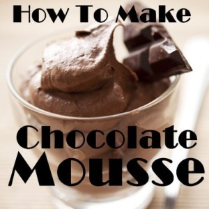 The Chew: Mother's Day Chocolate Mousse Recipe By Carla Hall