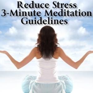Dr Oz: Deepak Chopra 21-Day, 3 Minute Meditation Cleanse Guidelines