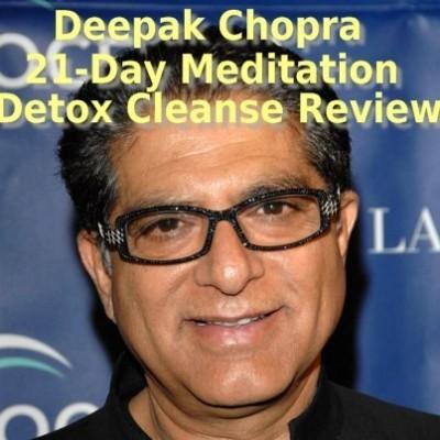 Dr Oz Deepak Chopra 21-Day Meditation Cleanse Review & Sherri Shepherd