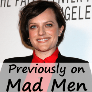 Live!: Elisabeth Moss Spa Vacation, 'Mad Men' & 'The West Wing'