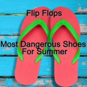 Dr Oz: Don't Wear Flip Flops in the Summer & Open Toe Wedge Support