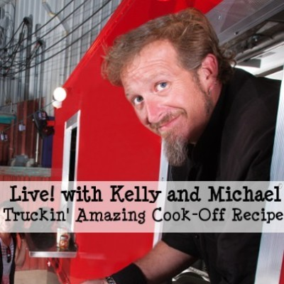 Kelly & Michael Roast Sweet Potato Quesadilla Recipe & Jesse Eisenberg