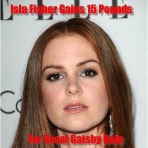 Live: Isla Fisher Gained 15 Lbs for Great Gatsby & How to Eat Vegemite