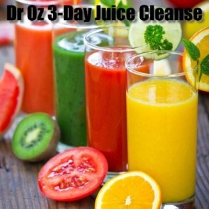 Dr Oz: 3-Day Juice Cleanse & Man Loses 100 Pounds Drinking Juice