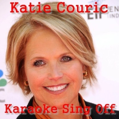 Live!: Katie Couric Trash Talking & Karaoke Sing-Off Vs Kelly Ripa