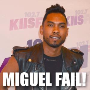 Live!: Miguel Injures Audience Member & Kelly Ripa Met Valentino