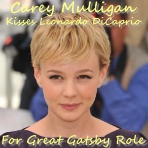 Live! Carey Mulligan Seals Great Gatsby Role Kissing Leonardo DiCaprio